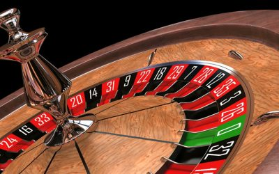 Spinning Wheel of Roulette